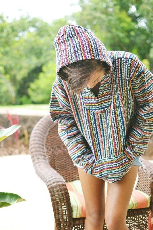 Colorful Mexican Baja Hoodie
