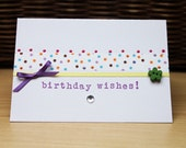 Happy Birthday, Birthday Wishes hand made greetings card