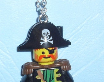 LEGO Pirate Necklace - Captain Red Beard