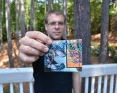 comic book wallet by ben -- custom order for hallokatie