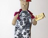 Handmade plush doll - Lola, the rabbit