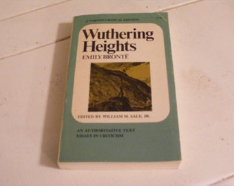 Wuthering Heights-Soft Cover Book-1963