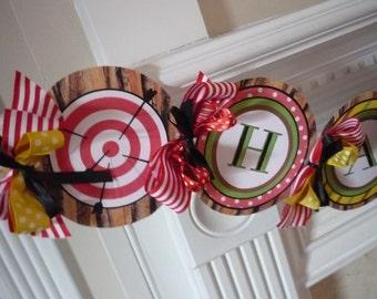 Robin Hood Printable Party Birthday DIY Banner