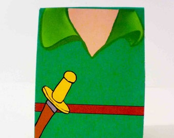 Peter Pan Printable Party Treat Box