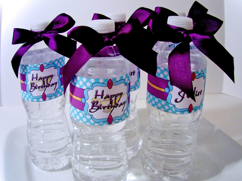макет наклейки на бутылочку с соком примерах
