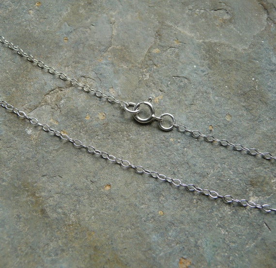 Sterling Silver Necklace Chain Premium Fine Cable Chain Option for A Mechanical Mind Pendants and Necklaces 925 Silver