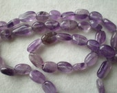 Amethyst Oval Nuggets Chip Beads
