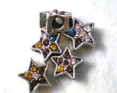 Large Star Multi Colored Bead