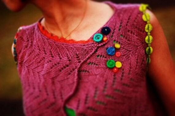 Knitting Pattern PDF - Ayako's Jacket Vest