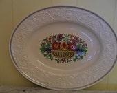 "Vintage Windermere Wedgwood Patrician Platter 16"""