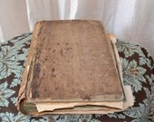 Reserved for Lisa - Rare French Artist Sketchbook from Art School in Paris.  c. 1876