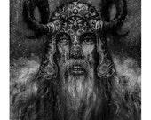 "Viking Art Print - ""The Long Winter"""