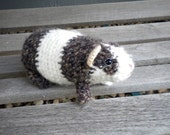 Fuzzy Guinea Pig-Realistic Amigurumi Guinea Pig