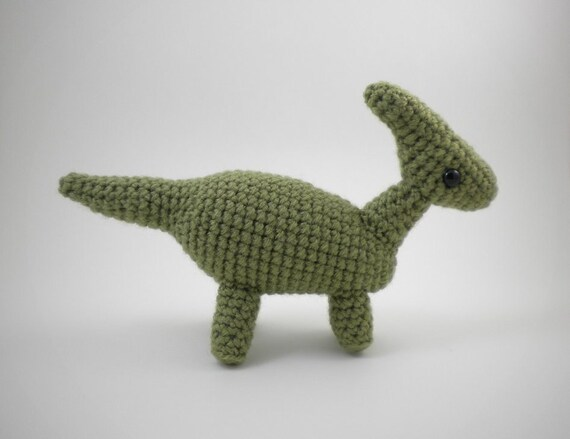 Parasaurolophus- Cute Realistic Amigurumi Dinosaur