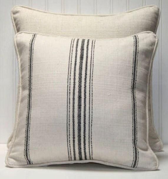 decorative pillow cover 16 x 16 inch primitive. Black Bedroom Furniture Sets. Home Design Ideas