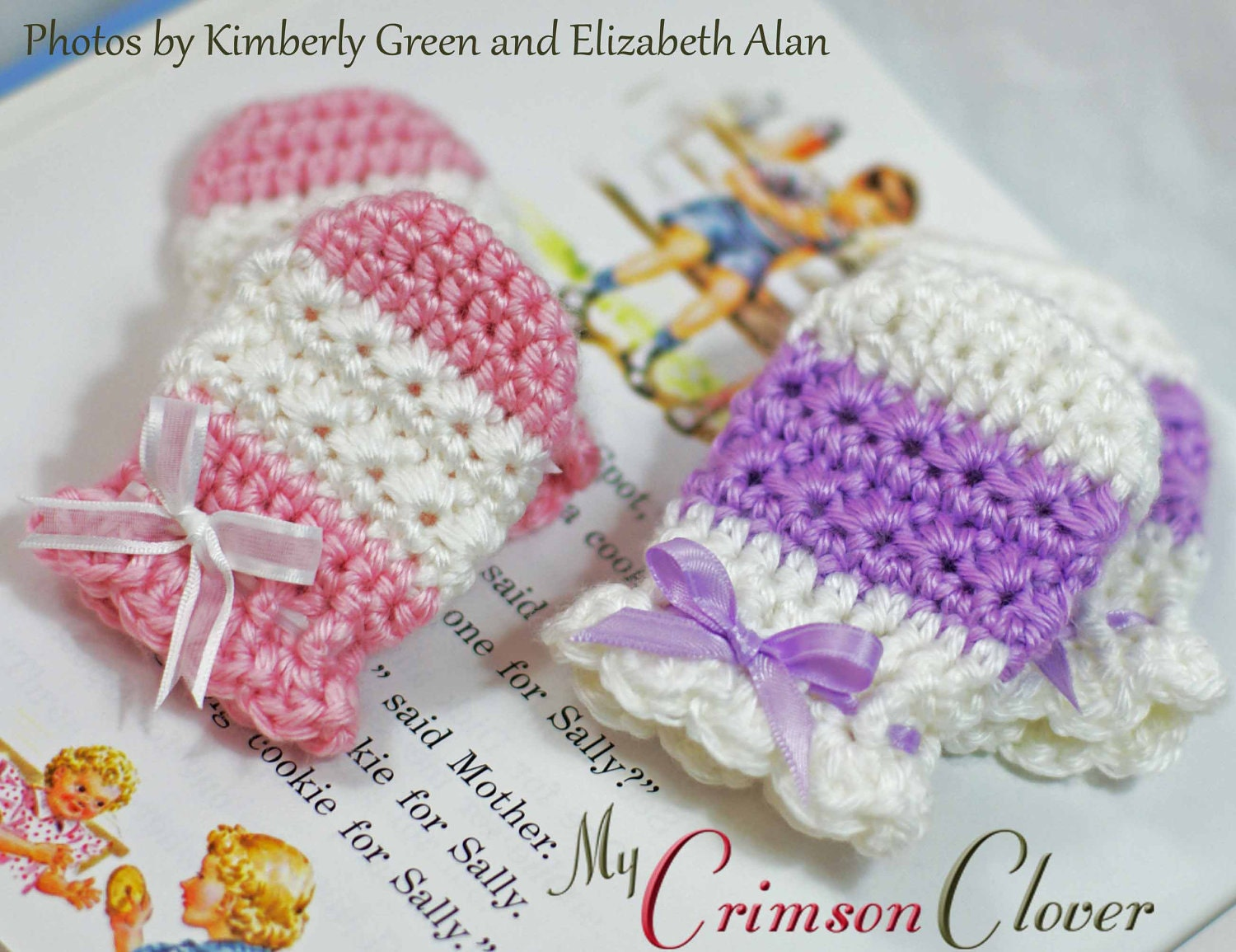 Baby mittens crochet pattern star stitch mitts zoom bankloansurffo Images