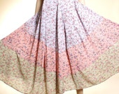 Tiny florals pastel Spring In The Country dress - medium, large, xl