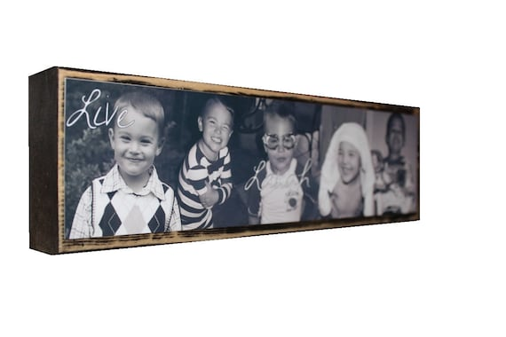PHOTO BLOCKS for DAD-Great Fathers Day Gifts -Personalized photo block collage-Great gifts to give-Great home decor