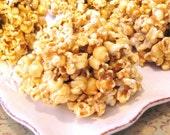 Homemade Soft Caramel Popcorn Balls - 8 Pack