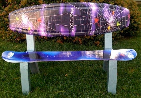 Items Similar To Cool Wakeboard Snowboard Bench On Etsy