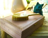 Beautiful Pink Vintage Jewelry Box