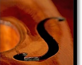 """8.5"""" x 12.0"""" Canvas Wall Art, Ready to Hang, Violin, Cello, Music, Fine Art Photography by Glennis Siverson"""
