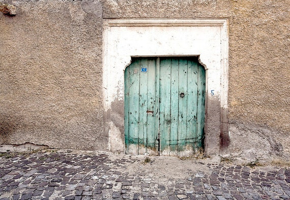 """Rustic Door No. 5, 12"""" x 8"""" Print, Architecture, Weathered Wood, Fine Art Photography by Glennis Siverson"""