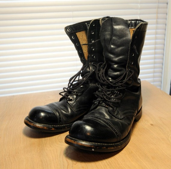 Vintage Corcoran 975 Military Combat Jump By