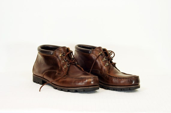 H.H. Brown Original Watermocs Chukka Hiking Boots 12W