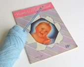 Vintage Knitting Instruction Book Children & Infants 1950 Sweaters Hats Booties Mittens More - retrogroovie