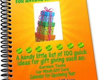 100 Quick Gift Ideas List Download Think No More Great Ideas for Anyone and Everyone