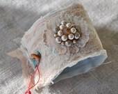 Vintage Adorned Corsage Bracelet