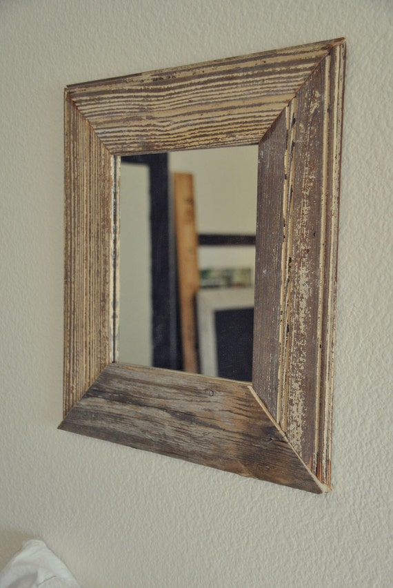 Small Mirror with Hundred Year Old Moulding