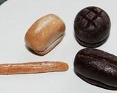 Dollhouse Miniature Food - Bread Assortment