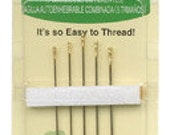Self Threading Needles by Clover 5 Sizes
