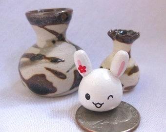The Wink Wink Bunny Porcelain Vase Set