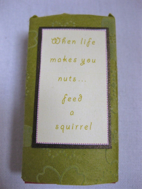 When life makes you nuts... Miniature Match Box