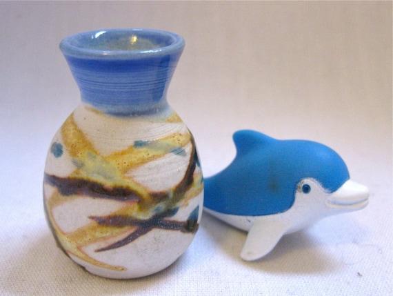 The Splish Splash Porcelain Miniature Vase