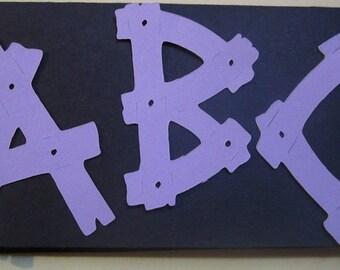 Plank Board Letters
