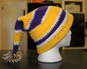 LSU Purple and Gold Stocking Cap