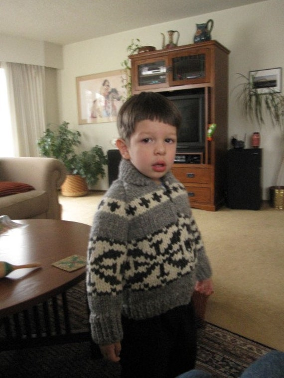 Child's Cowichan Sweater