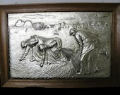 The Gleaners 1857 Print  Jean-Francois Millet Signed
