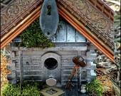 Recycled Upcycled Handmade Bird House