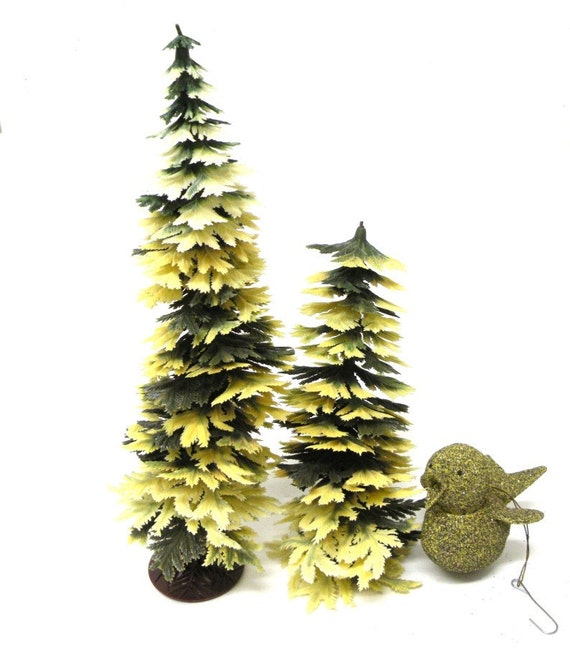 Set 3 Vintage Christmas Decorations