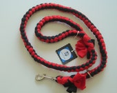 Convertible Dog Leash - 2 Leashes in 1   Safe, Strong, Slip Lead