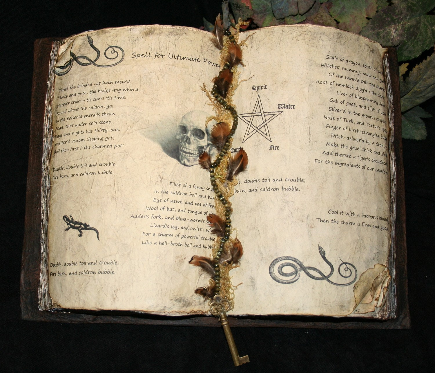 witch 39 s spell book