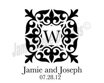 Custom Designed Digital Wedding Monogram