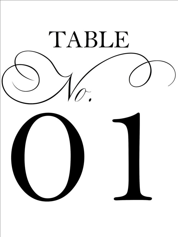 It is a graphic of Epic Free Printable Table Numbers 1-20