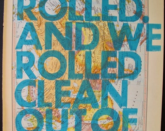 Eurasia / And We Rolled. And We Rolled Clean Out of Sight.