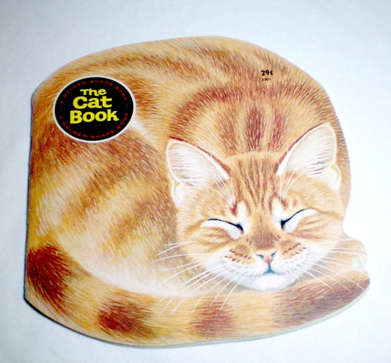The Cat Book - Vintage Childrens Book